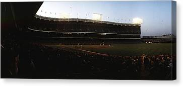 Yankee Stadium Canvas Print by Retro Images Archive