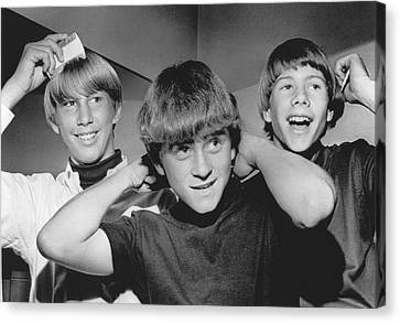 Beatle Haircuts Get Reprieve Canvas Print by Underwood Archives