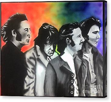 Beatles For Sale Canvas Print by Jacob Logan