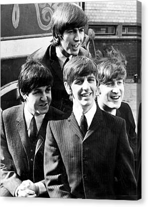 Beatles Canvas Print by Retro Images Archive