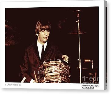 Beatles Ringo Color Canvas Print