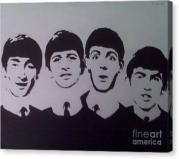 Beatles Canvas Print