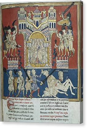 Beatus Of San Pedro De Carde�a. 1175 - Canvas Print by Everett