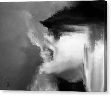 Beau Bella Sexy Smoke Canvas Print by Sir Josef - Social Critic - ART