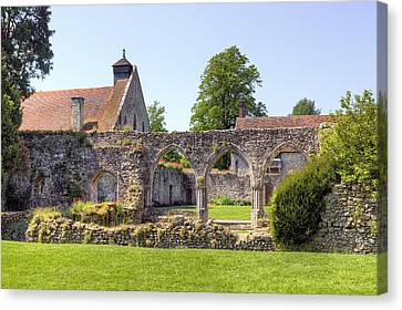 Beaulieu Abbey Canvas Print by Joana Kruse