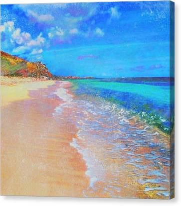 Beauregard Beach - Square Canvas Print