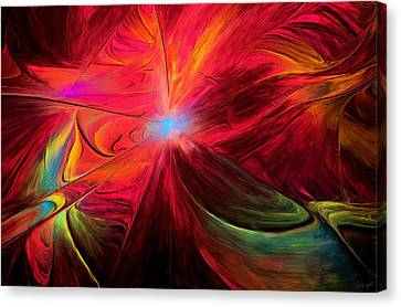 Beaute Des Couleurs Canvas Print by Lourry Legarde