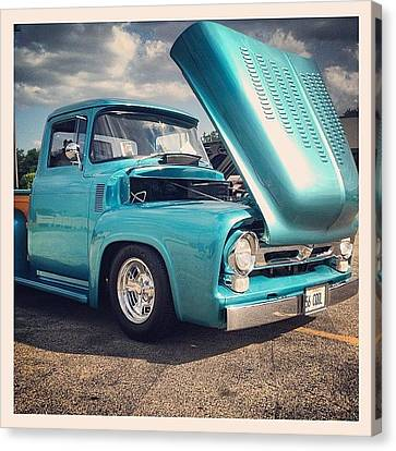 Classic Canvas Print - Beautiful '56 by Mike Maher