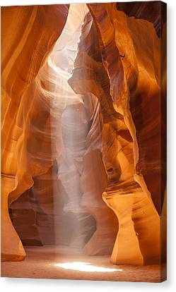 Beautiful Antelope Canyon Canvas Print by Melanie Viola
