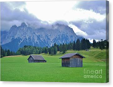Canvas Print featuring the photograph Beautiful Bavaria by William Wyckoff