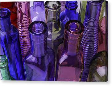 Container Canvas Print - Beautiful Bottles by Garry Gay