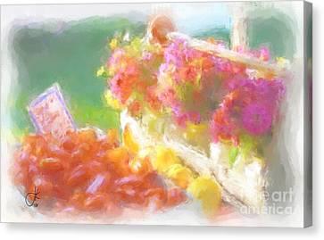 Beautiful Bounty 1035 20140927 Canvas Print