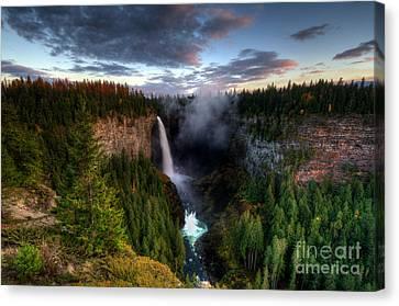 Thelightscene Canvas Print - Beautiful British Columbia by Bob Christopher