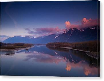 Beautiful British Columbia Canvas Print by Eti Reid
