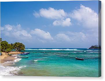 Beautiful Caribbean Water Canvas Print by Jess Kraft