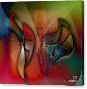 Beautiful Catch Canvas Print