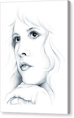 Beautiful Child Canvas Print by Johanna Pieterman