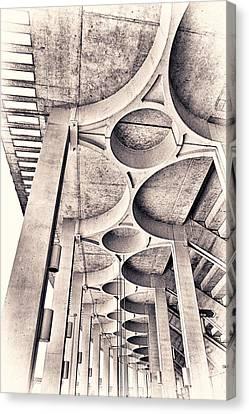 Beautiful Concrete Canvas Print