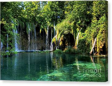 Dean Russo Canvas Print - Beautiful Crotia by Boon Mee