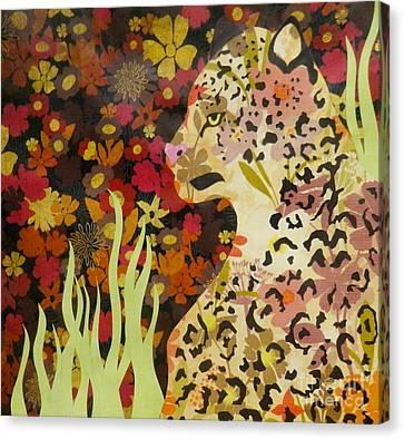 Feline Canvas Print - Beautiful Danger  by Jaimee Foster