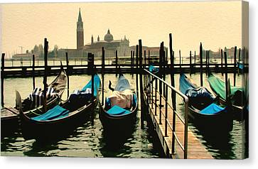Canvas Print featuring the photograph Beautiful Day In Venice by Brian Reaves
