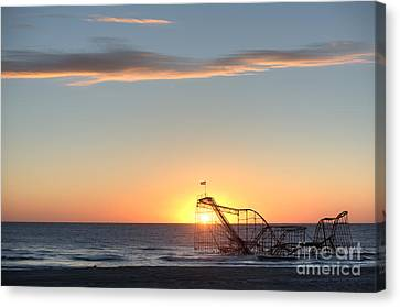 Beautiful Disaster Canvas Print by Michael Ver Sprill