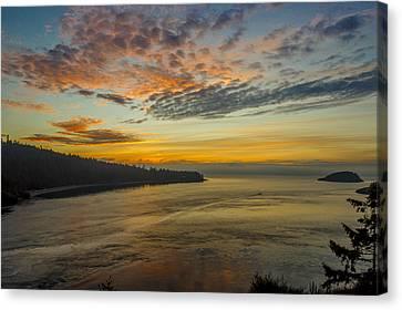 Beautiful Ending Canvas Print by Calazone's Flics