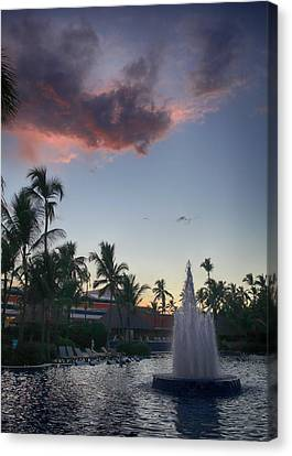 Beautiful Endings Canvas Print by Laurie Search