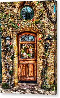 Canvas Print featuring the photograph Beautiful Entry by Jim Carrell