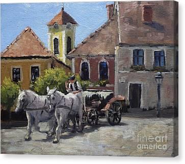 Beautiful European Town Szentendre Canvas Print
