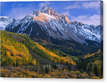Beautiful Fall Evening Canvas Print by Tim Reaves