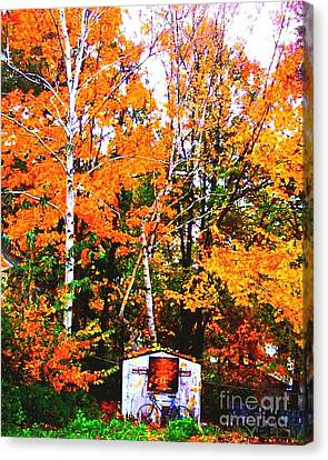 Beautiful Fall Season Canvas Print