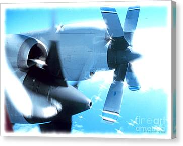 Canvas Print featuring the photograph Beautiful Fixed Wing Aircraft by R Muirhead Art