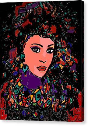 Gypsy Canvas Print - Beautiful Gypsy by Natalie Holland