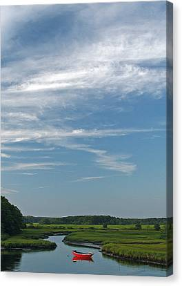 Beautiful Idyllic Cape Cod Canvas Print by Juergen Roth