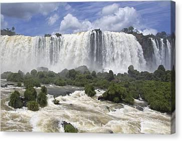 Beautiful Iguazu Waterfalls  Canvas Print