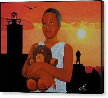 Beautiful Innocence Canvas Print by Daniel Kisekka