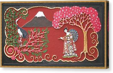 Beautiful Japan Canvas Print by Otil Rotcod
