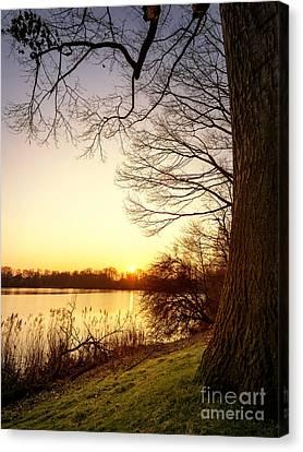 Beautiful Lake Canvas Print by Daniel Heine