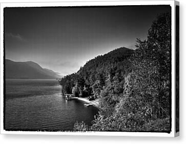 Beautiful Lake George Canvas Print by David Patterson