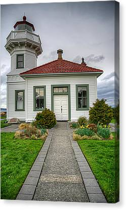 Beautiful Lighthouse Canvas Print by Spencer McDonald