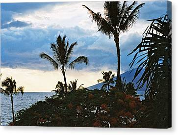 Canvas Print featuring the photograph Beautiful Maui Lan 44 by G L Sarti