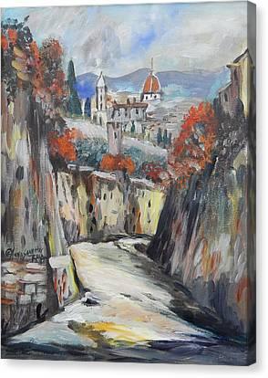 Beautiful Milan  Canvas Print by Anna Sandhu Ray
