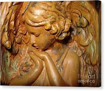 Beautiful Mystic Angel Canvas Print