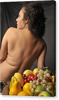 Beautiful Nude Woman Canvas Print by Timothy OLeary