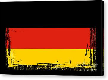 Beautiful Germany Flag Canvas Print