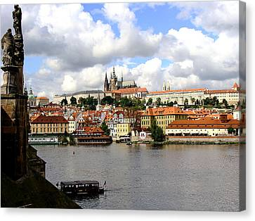 Canvas Print featuring the photograph Beautiful Prague by Ira Shander
