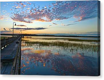 Beautiful Reflections Canvas Print by Walt  Baker