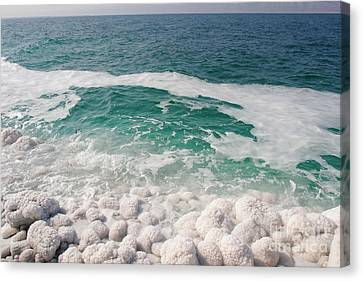 Beautiful Sea Salt Canvas Print by Boon Mee