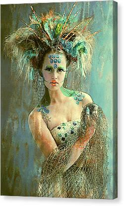Beautiful Sea Urchin Canvas Print by Maynard Ellis